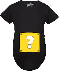 Mario Question Mark Block Hanging Lamp by Amazon Com Maternity Question Mark Block T Shirt Nerdy Video Game