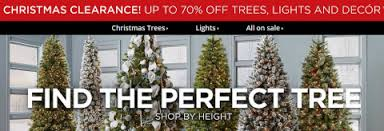 Sears Christmas Clearance Up To 70 OFF Trees Lights Decor