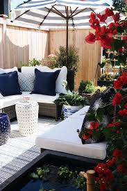 Aquascape Patio Pond Canada by Our Side Patio Makeover Patio Pond Giveaway The Inspired Room