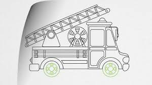 100 Fire Truck Drawing How To Draw A FIRE TRUCK Step By Step YouTube