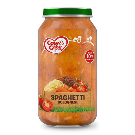 Cow and Gate Spaghetti Bolognese Jar - 250g