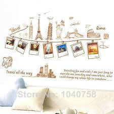 Pvc Removable Large Wallpaper World Map Wall Sticker Poster Home Decoration Travel Photo Frame Decals Paper Art Decal Stickers Walls