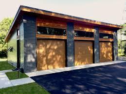 100 Modern House 3 Hartley Garage Plan