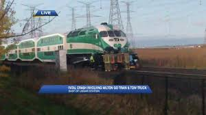 Video: Fatal GO Train Crash Closes Milton Line Train Carrying Gop Lawmakers To Policy Retreat Hits Garbage Truck Hook And Ladder Fire Vs Amtrak Fanatics Video Diesel Brothers Episode Four Recap Another Vs Semi Accident Klem 1410 Insane Footage Shows Slam Into Fedex On Tracks Nbc Bay Cause Of Train Semi Truck Crash In Stevens Point Still Under Crashes With Semitruck Aurora Oregonlivecom In Tow The Wins Bradenton Herald Trains Trucks Video Huffpost Collides Overpass Coquitlam News 1130 Hits Trailer Moving Local News Valdostadailytimescom