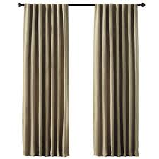 Jc Penney Curtains With Grommets by Home Decorators Collection Semi Opaque Gray Room Darkening Back