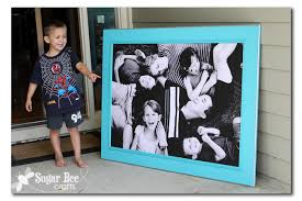 Giant Picture tutorial Sugar Bee Crafts