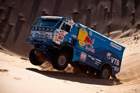 Dakar Rally 2013: Red Bull's Truck Drivers