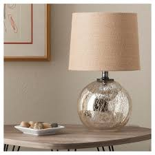 Target Lamp Base White by Mercury Glass Globe Accent Lamp Includes Cfl Bulb Threshold