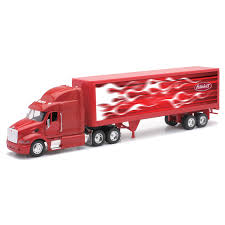 Toy Truck / TRUCK PETERBILT MODEL 387 40` Container 1:3 2 ...