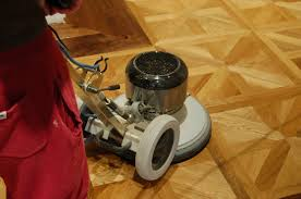 Hardwood Floor Buffing Machine by Applying Blanchon Oils For Wooden Floors
