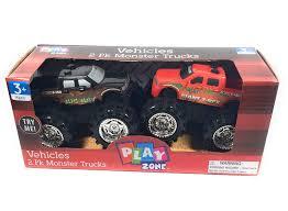 100 Big Black Trucks Amazoncom Play Zone Vehicles 2 Pk Monster Red