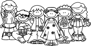 Hippo Kids Coloring Page