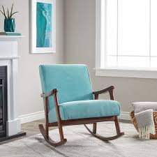 Amazon.com: Wooden Rocking Chair Provides Elegant Style And Function ... Leather Accent Chair Modern Wing Back Chair Amazoncom Christopher Knight Home 299753 Kendal Grey Fabric Accent Meadow Lane Classic Swoop Suri Blue K6499 A750 Bellacor Perfect Fniture Chairs Dinah Patio Aqua Elements Cart Hickorycraft Traditional Upholstered With Small Side Prinplfafreesociety Oxette Evergreen A30046 Bi Wize 31 Best Comfy For Living Rooms 2019 Most Comfortable Noble House Lezandro Tufted Teal Club Stud Accents Irene Contemporary Velvet Height