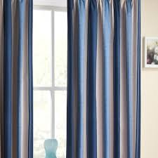 Navy And White Striped Curtains Uk by Blue Striped Curtains Amazon Co Uk