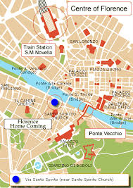 Road Map FLORENCE HOMECOMING In Florence Tuscany Italy