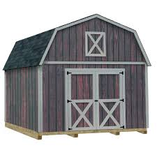 12x16 Gambrel Shed Kits by Best Barns Denver 12x16 Wood Shed Free Shipping
