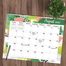 2017 academic year hallmark desk blotter calendar ebay