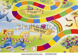 RIVER FALLSWISCONSIN APRIL 12015 A Candy Land Game Board Showing
