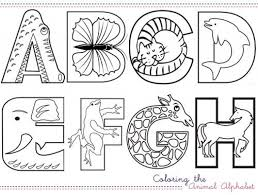 Animal Alphabet And Coloring On Pinterest With Regard To Pages