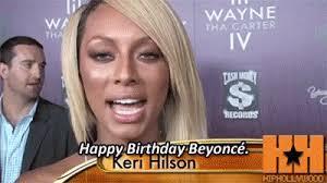 Keri Hilson Happy Birthday Beyonce GIF KeriHilson HappyBirthdayBeyonce GIFs