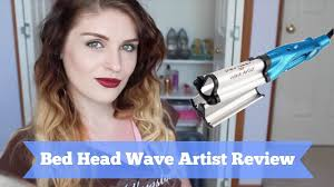 Bed Head Hair Crimper by Bed Head Waver Artist Review Demo Youtube