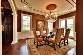 Image Of Dining Room Chair Rail Wainscoting
