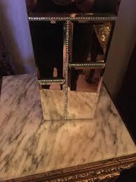 Bella Lux Mirror Rhinestone Bathroom Accessories by New Bella Lux Mirror Rhinestone Crystal Toilet Brush Holder