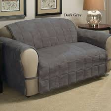 Bed Bath And Beyond Couch Slipcovers by Dark Grey Sofa Slipcovergray Linen Slipcover Sofalight Gray