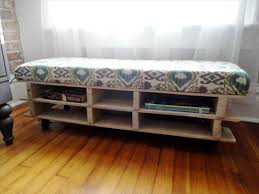 Small Store Room Diy Pallet Storage Bench Ideas