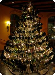 Best Kinds Of Christmas Trees by Made Entirely Out Of Wine Bottles All About Christmas