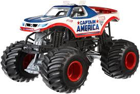 Amazon.com: Hot Wheels Monster Jam 1:24 Die-Cast Captain America ... Legendary Monster Jeep Built By Yakima Native Gets A Second Life Monster Truck Photo Album Traxxas Monsterjam Captains Curse Jam At Raymond James Stadium Macaroni Kid Megalodon Truck Decal Pack Stickers Decalcomania Untitled The Monster Blog Your 1 Source For Coverage Toughest Tour Coming To Budweiser Events Center