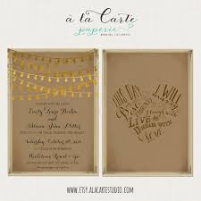 This Day I Will Marry My Best Friend Rustic Wedding Invitation Card