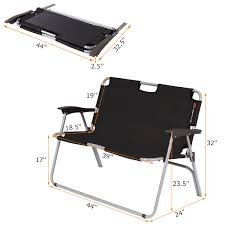 Costway 2 Person Folding Camping Bench Portable Loveseat Double Chair  Outdoor Black Cheapest Useful Beach Canvas Director Chair For Camping Buy Two Personfolding Chairaldi Product On Outdoor Sports Padded Folding Loveseat Couple 2 Person Best Chairs Of 2019 Switchback Travel Amazoncom Fdinspiration Blue 2person Seat Catamarca Arm Xl Black Choice Products Double Wide Mesh Zero Gravity With Cup Holders Tan Peak Twin 14 Camping Chairs Fniture The Home Depot Two 25 Ideas For Sale Free Oz Delivery Snowys Glaaa1357 Newspaper Vango Hampton Dlx
