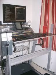 Lifehacker Standing Desk Diy by Ikea Jerker Do It Yourself Treadmill Desk
