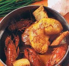 cuisine recette poulet recette poulet aux ecrevisses 750g