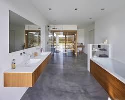 75 badezimmer mit bodengleicher dusche und betonboden ideen