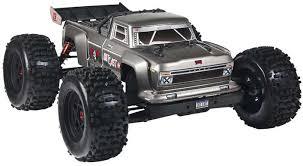 ARRMA AR106032 1/8 Outcast 6S Stunt Truck 4WD Silver (ARRMA D84SW ...