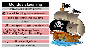 100 Design A Pirate Ship Monday Term 2 Week 4 2RG 2JH Blog