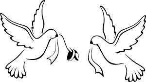 Wedding Love Birds Vector