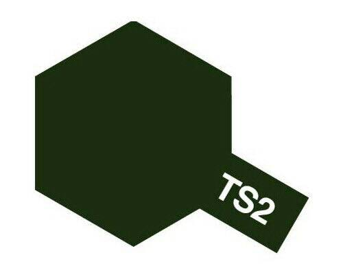 Tamiya TS-2 Dark Green Spray Lacquer