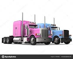 Pink Blue Modern Big Semi Trailer Trucks — Stock Photo © Trimitrius ... Truck Parts Joplin Mo Unique Tricked Out Semi Trucks Peterbilt Big Rigs Semi Trucks Of Different Makes And Models Stand In Row On Custom Custom Freightliner Classic Xl Driver Jobs Mntdl For Sale Cheap Practical Autostrach Rig Red Tractor Park On Wide Industrial P 17 Inch Friction Power Hauler With 4 Race Cars Modots Campaign Aims To Prevent Semitruck Passenger 8 Things You Should Know When Buying A Used Electric Semis Expected Be Service By 20 Energi News Walmart Introduces Wave Concept Wvideo Poster Posters
