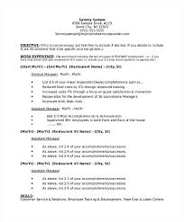 Hospitality Resume Sample Restaurant Manager Business Plan 1 Hotel And Management Being In A Examples