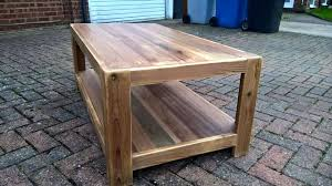 wooden pallet coffee table and end table 101 pallet ideas