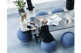 chaise ballon siège ballon ergonomique office ballz azergo