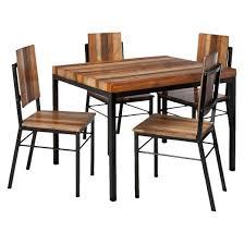 asmara dining chair mixed material set of 2 target