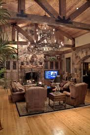 Rustic Lux Living Room Country Decorating Ideas