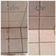 clean bathroom tiles without home genius
