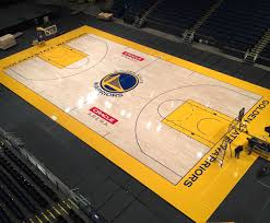 Golden State Warriors Portable Basketball Court