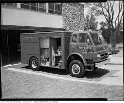 Vintage Fire Truck Photographs From Toronto