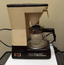 Vintage Retro Melitta Personal Coffee Maker W 2 Cup Replacement Carafe In Box
